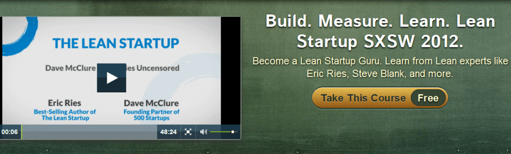 Lean startup videos by Eric Ries