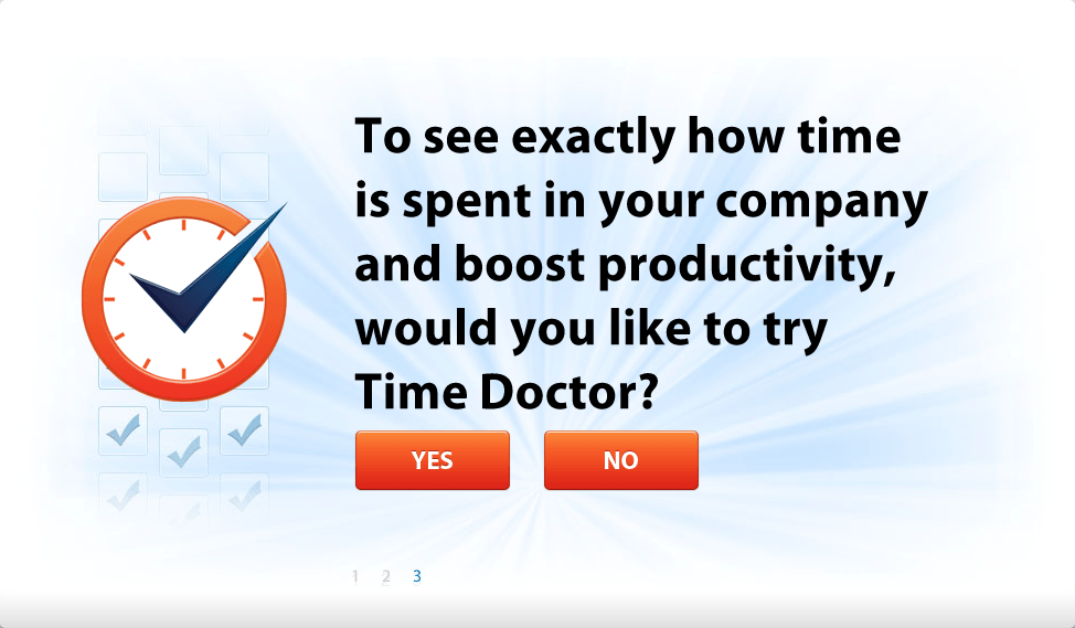 Time Doctor third question