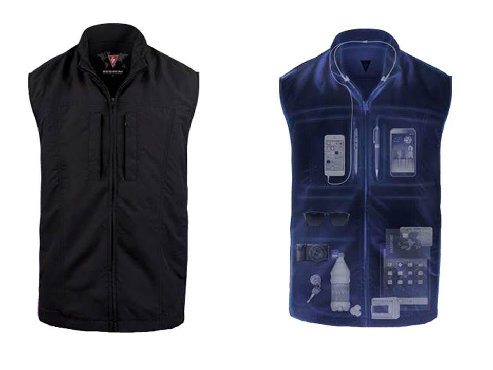 Scottevest for digital nomads working on the road
