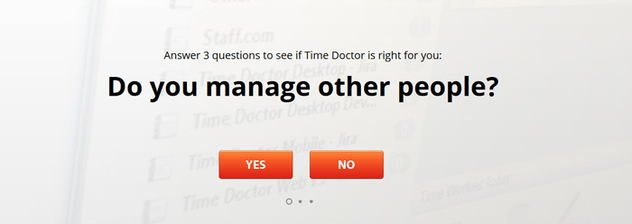Time Doctor homepage