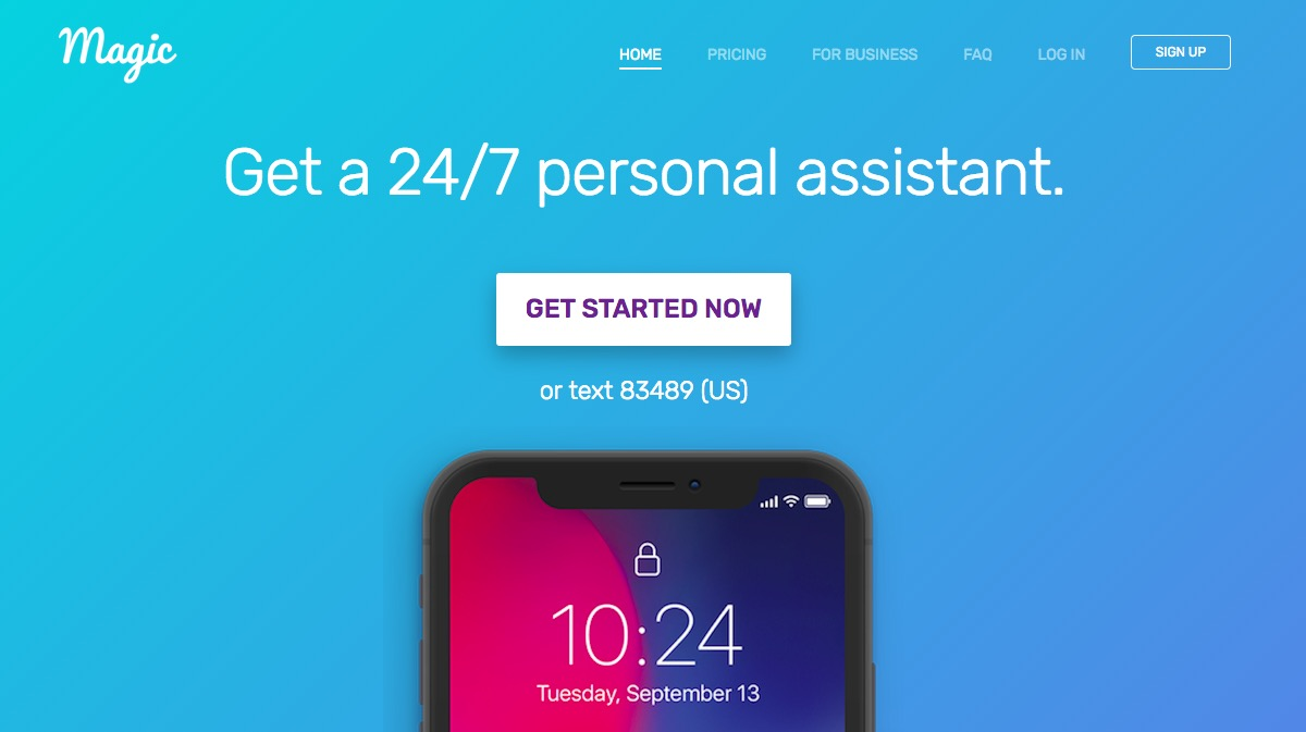magic personal assistant