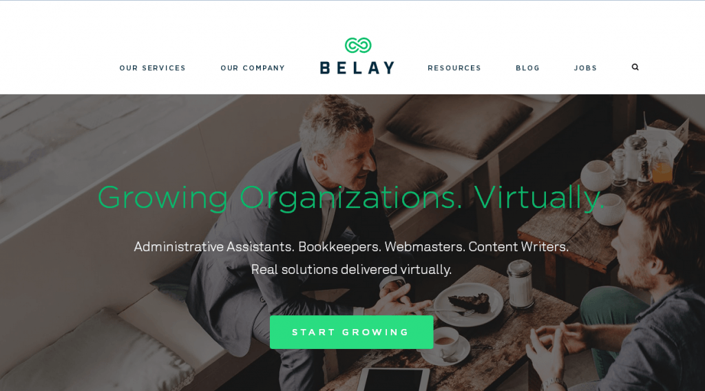 belay is another one of the top virtual assistant companies when you hire a virtual assistant from belay you can expect top tier professionals that will
