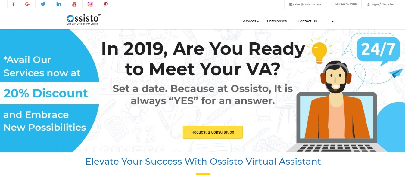 Evaluating The Top 28 Virtual Assistant Companies of 2019