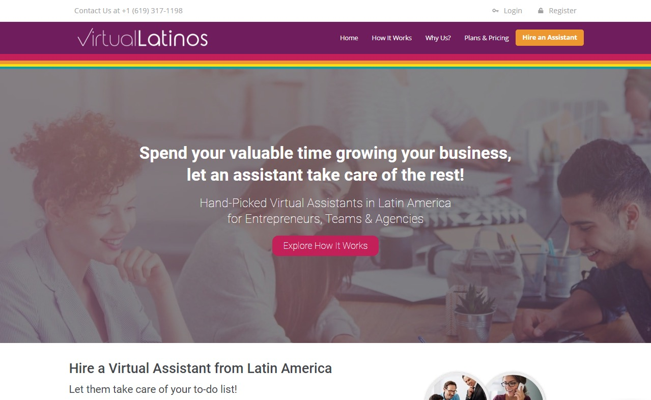 virtual latinos