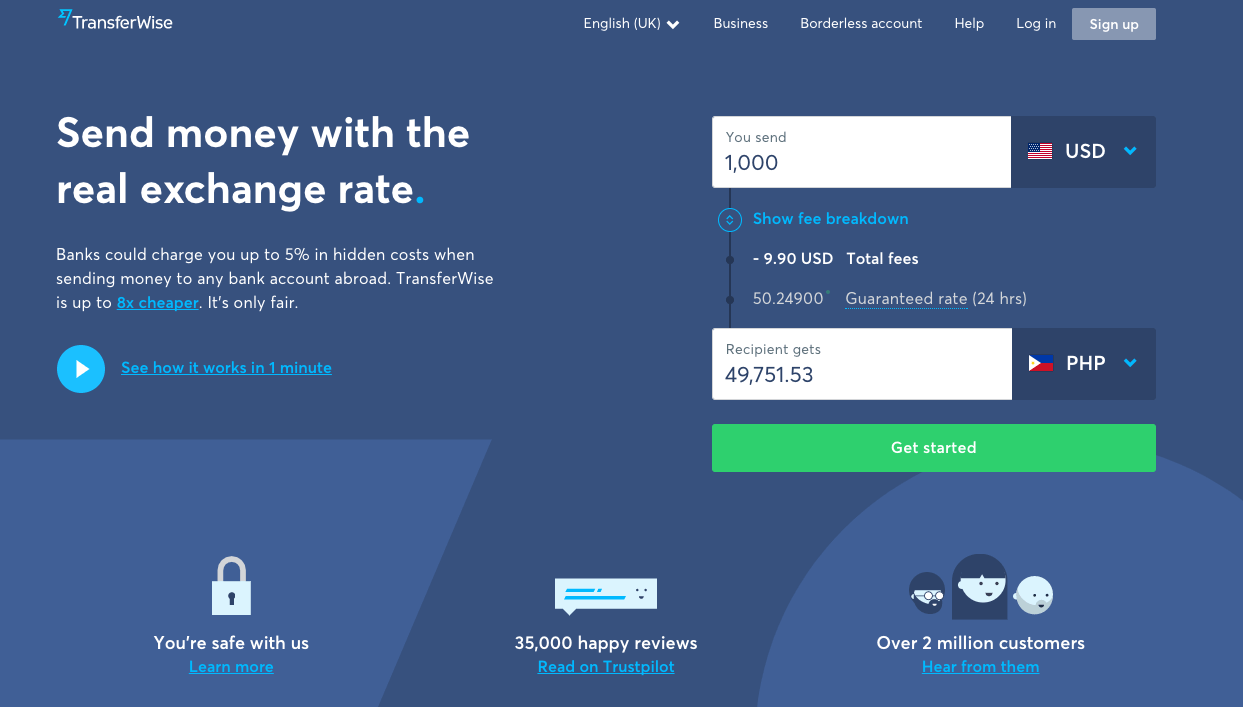 Us forex transferwise money kauffman gas kleinbettingen gare