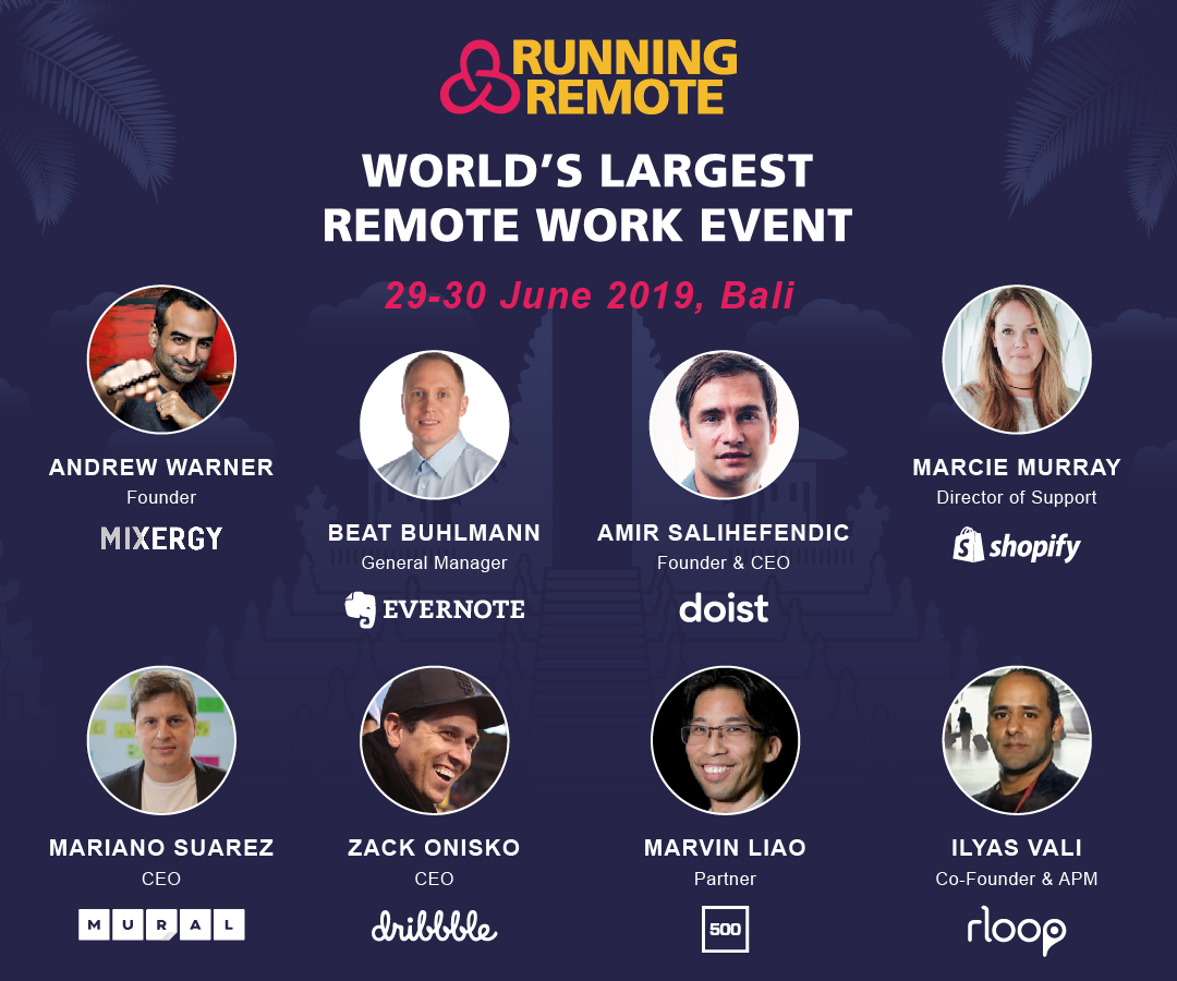 running remote 2019 speakers