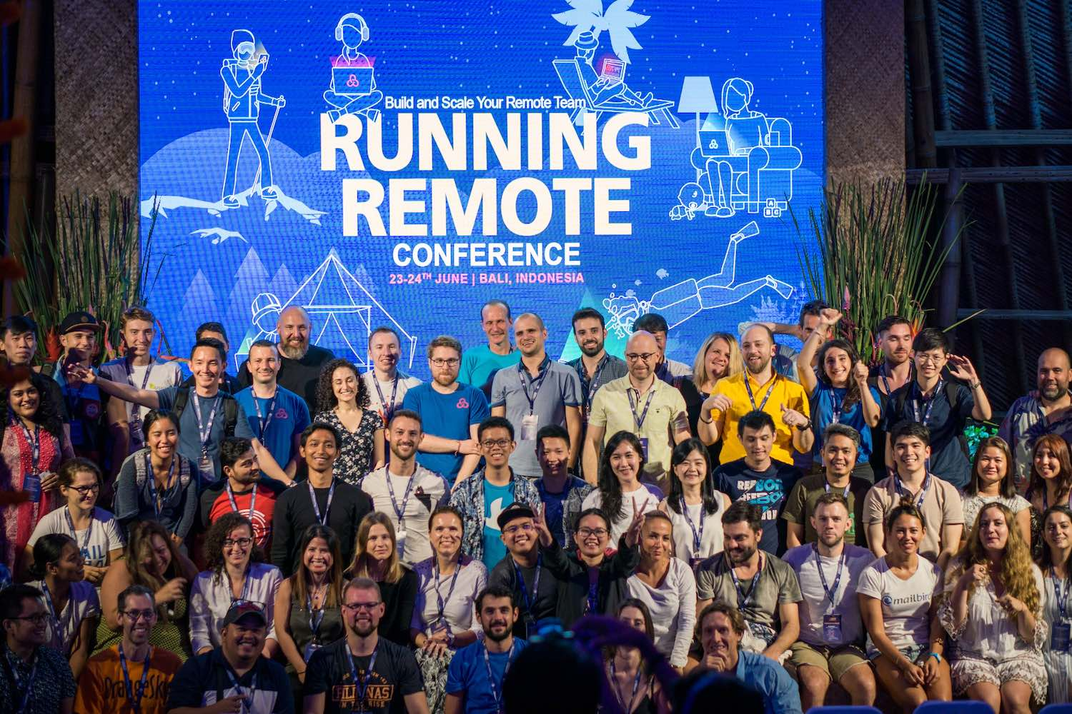 event marketing for running remote