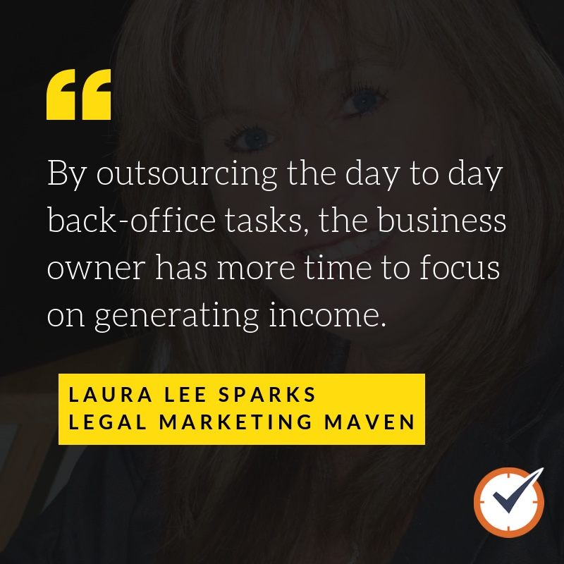 Laura Lee Sparks of Legal Marketing Maven
