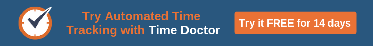 Time Doctor automated time tracking