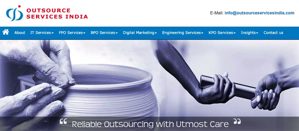 outsource services india