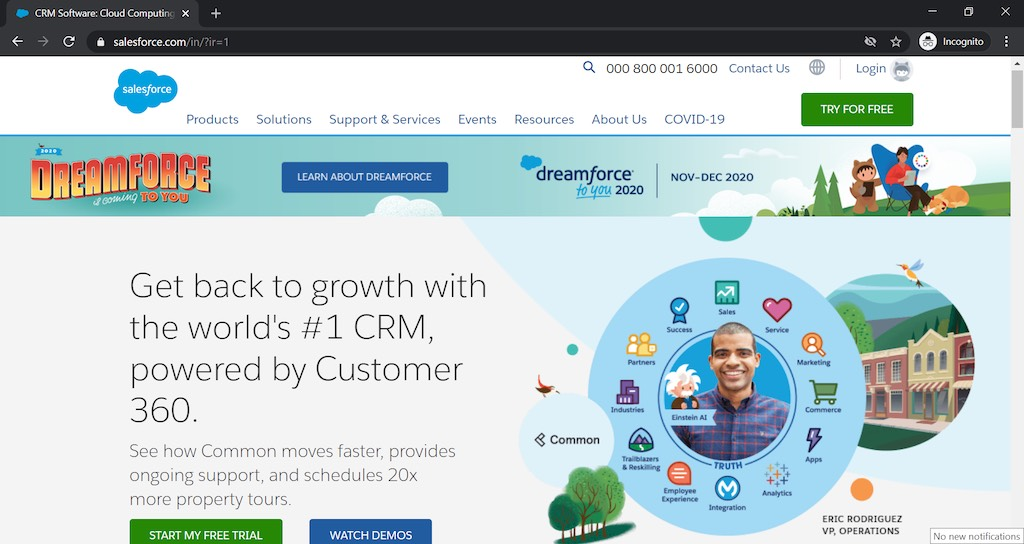 salesforce for crm apps