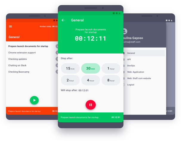 time doctor mobile app