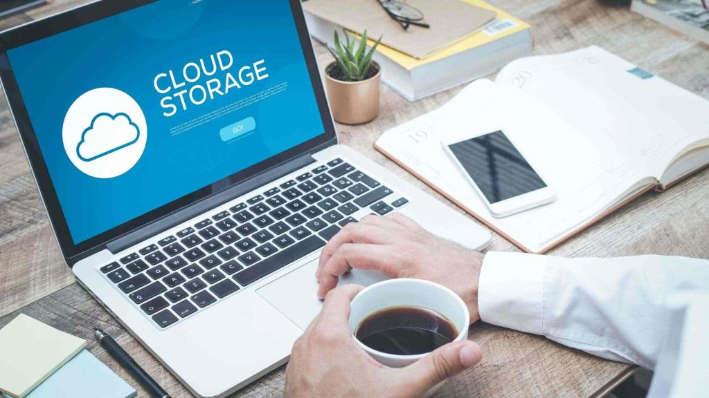 remote work software for cloud storage