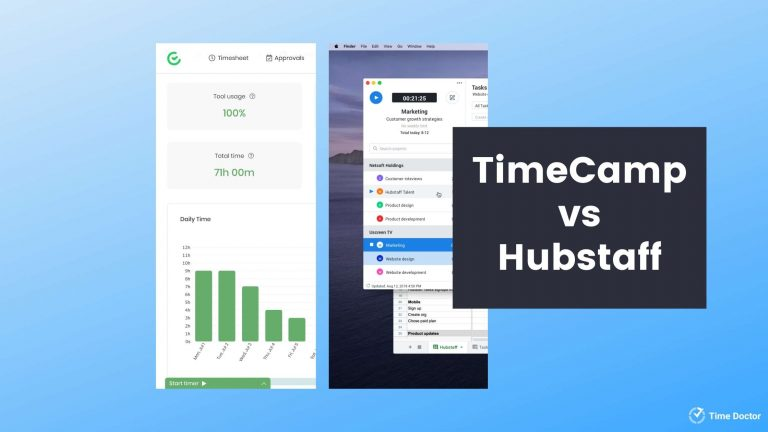 timecamp vs hubstaff