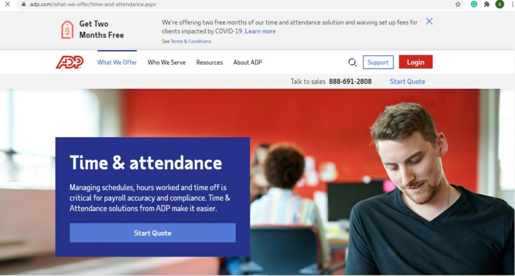 10. ADP Time And Attendance