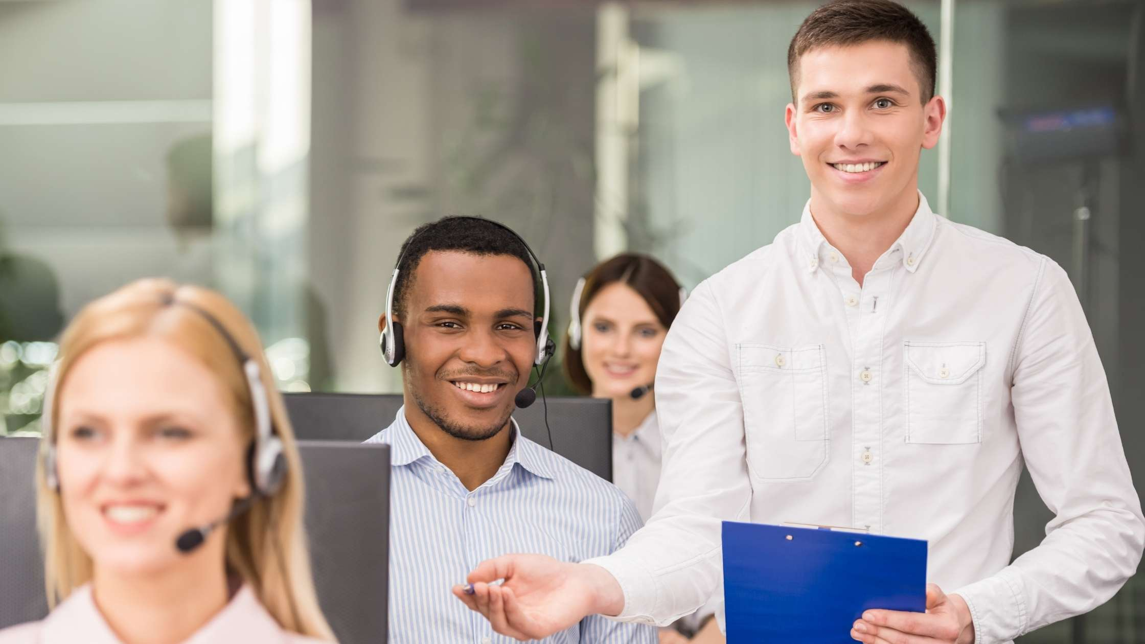call center security policy