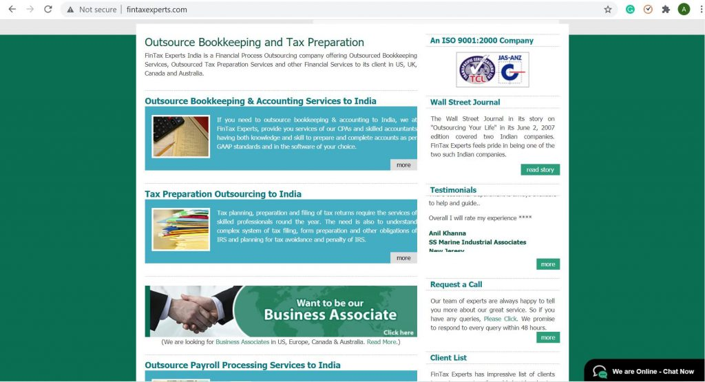 fintax experts india