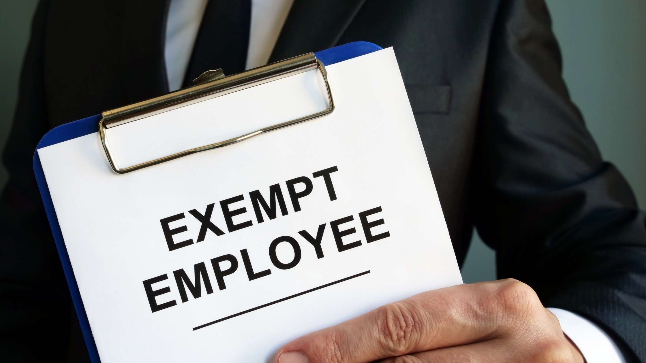 timesheets for exempt employees