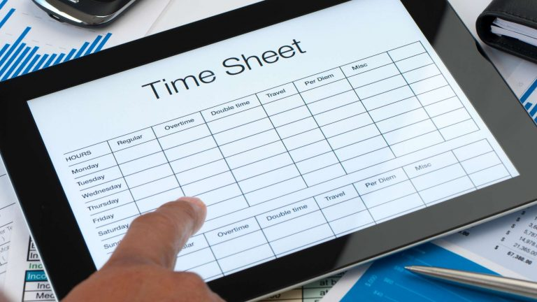 timesheets for salaried employees